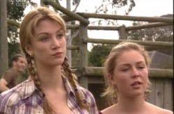 Nina Tucker, Michelle Scully in Neighbours Episode 4148