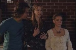 Taj Coppin, Nina Tucker, Michelle Scully in Neighbours Episode 4148