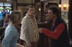 Steph Scully, Stuart Parker, Joe Scully in Neighbours Episode 4151
