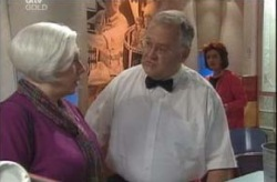Harold Bishop, Lyn Scully, Rosie Hoyland in Neighbours Episode 4151