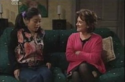 Lori Lee, Lyn Scully in Neighbours Episode 4151
