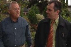 Harold Bishop, Karl Kennedy in Neighbours Episode 4152