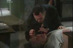 Karl Kennedy, Lou Carpenter in Neighbours Episode 4152