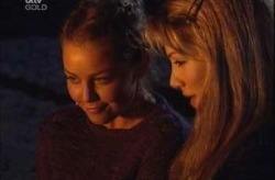 Michelle Scully, Nina Tucker in Neighbours Episode 4152