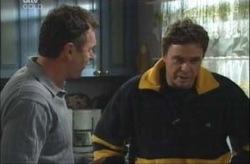 Karl Kennedy, Joe Scully in Neighbours Episode 4155