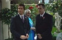 Darcy Tyler, Rosie Hoyland, Karl Kennedy in Neighbours Episode 4155