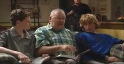 Daniel Clohesy, Harold Bishop, Boyd Hoyland, Lou Carpenter in Neighbours Episode 4175