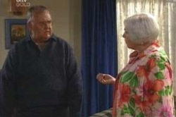 Harold Bishop, Rosie Hoyland in Neighbours Episode 4179