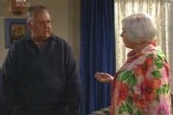 Harold Bishop, Rosie Hoyland in Neighbours Episode 4179