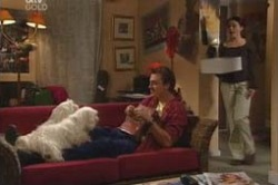 Bob, Bib, Stuart Parker, Libby Kennedy in Neighbours Episode 4179