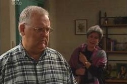 Harold Bishop, Ruby Dwyer in Neighbours Episode 4179