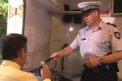 Karl Kennedy, Sgt Phil Seals in Neighbours Episode 4180
