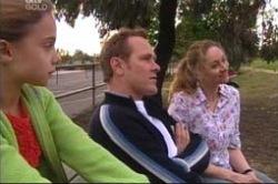 Summer Hoyland, Max Hoyland, Joanne Blair in Neighbours Episode 4181