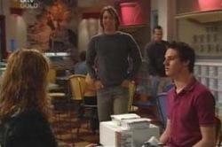 Nina Tucker, Taj Coppin, Jack Scully in Neighbours Episode 4182