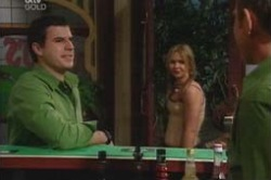 Alex Argenzio, Steph Scully, Max Hoyland in Neighbours Episode 4182