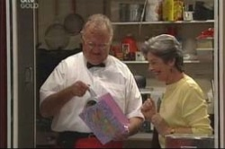 Harold Bishop, Ruby Dwyer in Neighbours Episode 4183