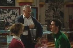 Nina Tucker, Harold Bishop, Jack Scully in Neighbours Episode 4183