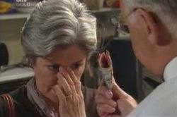 Ruby Dwyer, Harold Bishop in Neighbours Episode 4184