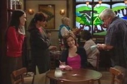 Libby Kennedy, Susan Kennedy, Lyn Scully, Harold Bishop in Neighbours Episode 4184