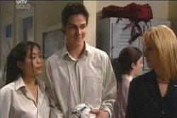 Candace Barkham, Jack Scully, Lori Lee in Neighbours Episode 4186
