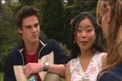 Jack Scully, Lori Lee, Nina Tucker in Neighbours Episode 4187