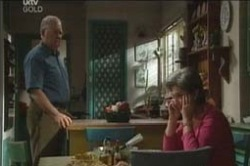Ruby Dwyer, Harold Bishop in Neighbours Episode 4189