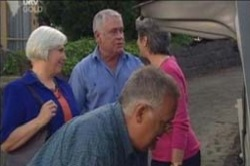 Lou Carpenter, Harold Bishop, Ruby Dwyer, Rosie Hoyland in Neighbours Episode 4189