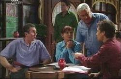 Karl Kennedy, Susan Kennedy, Lou Carpenter, Darcy Tyler in Neighbours Episode 4190