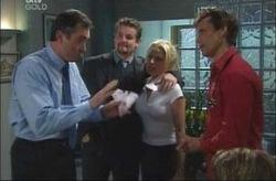 Karl Kennedy, Toadie Rebecchi, Dee Bliss, Darcy Tyler in Neighbours Episode 4190