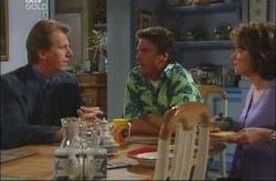 Bruce Hanson, Joe Scully, Lyn Scully in Neighbours Episode 4191