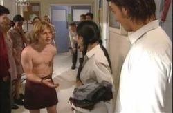 Boyd Hoyland, Lori Lee, Taj Coppin in Neighbours Episode 4192