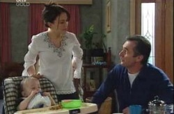 Ben Kirk, Libby Kennedy, Karl Kennedy in Neighbours Episode 4194