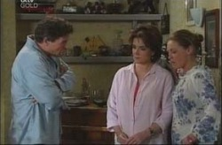 Joe Scully, Lyn Scully, Michelle Scully in Neighbours Episode 4197