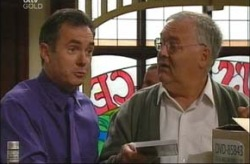 Karl Kennedy, Harold Bishop in Neighbours Episode 4199