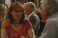 Dorothy Stevens, Harold Bishop, Lou Carpenter in Neighbours Episode 4200