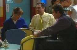 Susan Kennedy, Karl Kennedy, Toadie Rebecchi in Neighbours Episode 4202