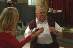 Sarah Jones, Harold Bishop in Neighbours Episode 4202