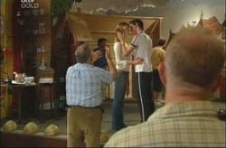 Harold Bishop, Jack Scully, Nina Tucker in Neighbours Episode 4202