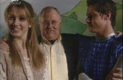 Nina Tucker, Harold Bishop, Jack Scully in Neighbours Episode 4203