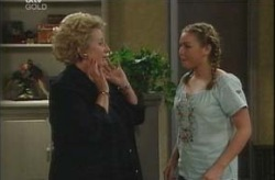 Valda Sheergold, Michelle Scully in Neighbours Episode 4204