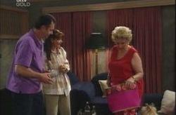 Karl Kennedy, Susan Kennedy, Valda Sheergold in Neighbours Episode 4205