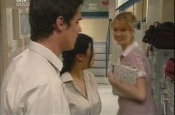 Jack Scully, Lori Lee, Nina Tucker in Neighbours Episode 4206