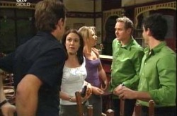 Stuart Parker, Libby Kennedy, Steph Scully, Max Hoyland, Alex Argenzio in Neighbours Episode 4209