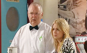 Harold Bishop, Sky Mangel in Neighbours Episode 4484