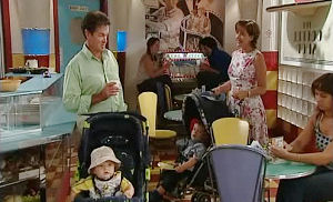Tom Scully, Oscar Scully, Susan Kennedy, Ben Kirk in Neighbours Episode 4488
