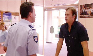 Allan Steiger, Stuart Parker in Neighbours Episode 4489