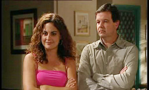 David Bishop, Serena Bishop in Neighbours Episode 4490