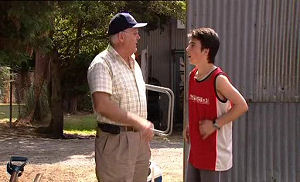 Stingray Timmins, Harold Bishop in Neighbours Episode 4490