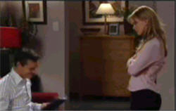 Paul Robinson, Elle Robinson in Neighbours Episode 4828