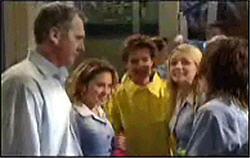 Dylan Timmins, Susan Kennedy, Serena Bishop, Sky Mangel, Karl Kennedy in Neighbours Episode 4831